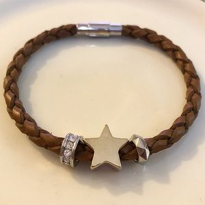 Fossil Leather Bracelet ⭐️